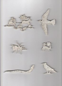 Kiki Smith, Sterling Silver Jewerly, 2009