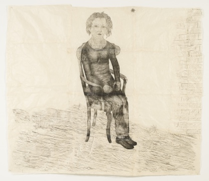 Kiki Smith, Circumstances (with spider)